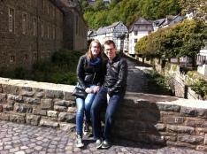 Met Michael in Monschau.