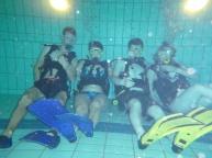 Met zijn alle op de foto tijdens het duiken.
