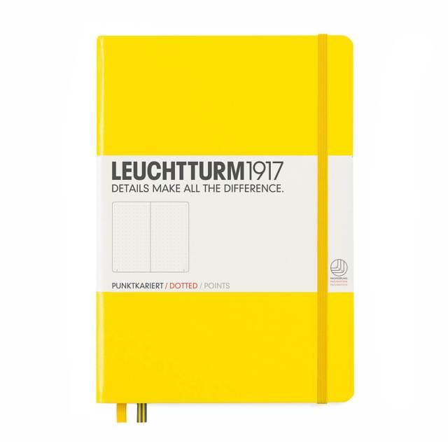 Bullet-Journal-Leuchtturm1917-notitieboek-geel
